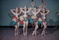 """<p></p><p><span style=""""font-size: 1em; background-color: transparent;"""">Studio dance school photographs such as this one by Byrd III of students in 1949 typically cost $1 per shot.</span><span style=""""font-size: 1em; background-color: transparent;"""">""""Dad opened a glamour studio in Fort Worth with dance and beauty as his subject,"""" recalls his son, Byrd IV.</span></p><p></p>"""