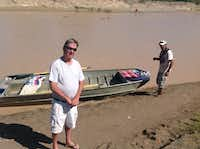 Mike Davidson runs the Boquillas International Ferry that provides boat rides across the Rio Grande from Big Bend National Park to the village of Boquillas, Mexico. ((Angela Kocherga))