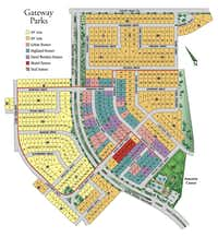 The Gateway Parks community is south of U.S. 80 in Forney. ((Gateway))
