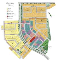 The Gateway Parks community is south of U.S. 80 in Forney. (Gateway)