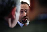 Jason Miller is a spokesman for President-elect Donald Trump. (Carolyn Kaster/The Associated Press)