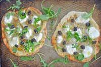 Artichoke and ricotta pizzas(Ellise Pierce)