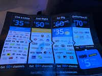AT&T unveiled the DirecTV Now product on Monday -- and also its prices.(Melissa Repko/The Dallas Morning News)