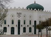 The Islamic Center of Irving at 2555 Esters Rd, pictured, on March 18, 2015. (Michael Ainsworth/Staff Photographer)