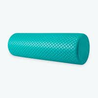 Your body (and your yoga instructor) will thank you for using a foam roller.(Gaiam)