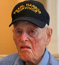 John E. Lowe served in the Navy through World War II and later with the Highway Patrol and the U.S. Marshals Service. (Jae S. Lee/Staff Photographer)