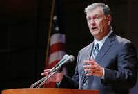 Dallas Mayor Mike Rawlings has become the face of Dallas city government. (File Photo/The Dallas Morning News)