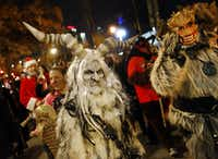 A file photo from the 3rd Annual Dallas Krampus Walk Saturday, December 5, 2015 (Tom Fox/The Dallas Morning News)(Staff Photographer)