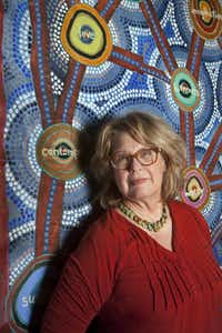 Dallas artist Pamela Nelson founded the Stewpot Art Program 21 years ago. Special Contributor