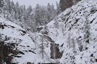 Seven Falls in winter.(John Lumpkin)