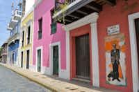 Colorful Calle De San Sebastian(Cheryl Collett)