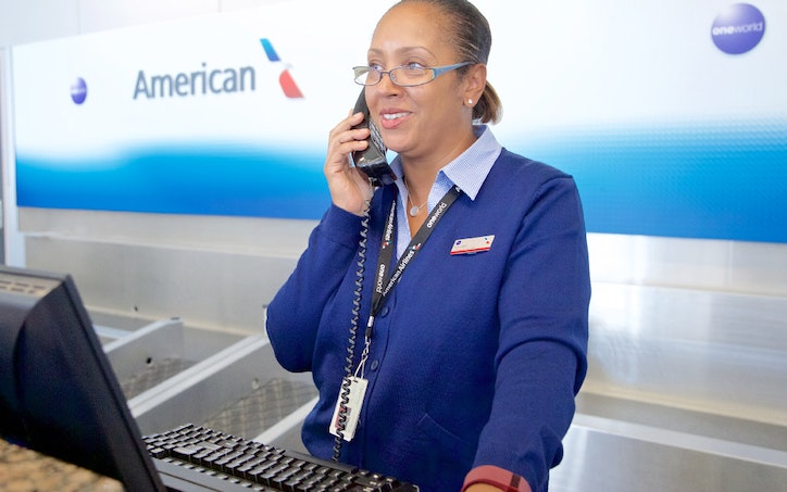 airline customer service agent
