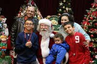 <p>Santa Claus will be making appearances throughout the month during a number of Grapevine holiday events.</p>