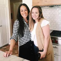 Dallas-based photographer Jessica Barfield (right) is the official photographer for Chip and Joanna Gaines (left), stars of HGTV's Fixer Upper home improvement show from Waco, Texas.(Courtesy photo Jessica Barfield)