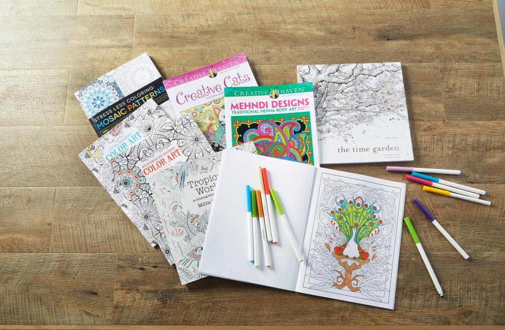 Michaels Misses As Adult Coloring Books Fade And Custom Framing Falls