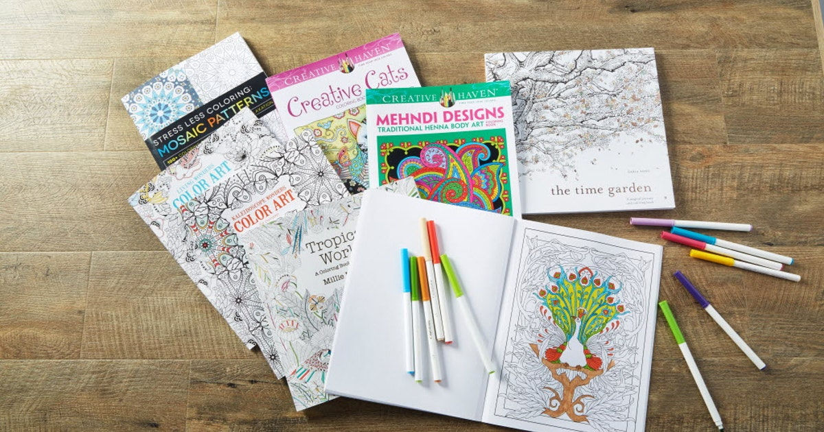 Michaels misses as adult coloring books fade and custom framing ...