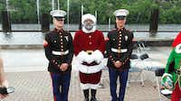Larry Jefferson, the Mall of America's first black Santa, is a retired U.S. Army veteran. (Courtesy/Larry Jefferson)
