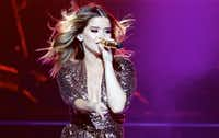 Maren Morris performs at American Airlines Center, Friday, October 14, 2016. (Brandon Wade/Special Contributor)(Special Contributor)