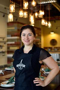 Kelly Huddleston, 31, is owner of a new cooking school, The Cookery.((Ben Torres/Special Contributor))
