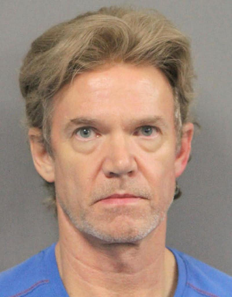 This booking photo released by the Jefferson Parish Sheriff's Office shows Ronald Gasser, 54, the man who fatally shot ex-NFL player Joe McKnight in a New Orleans suburb during a road rage dispute. (Jefferson Parish Sheriff's Office via AP)