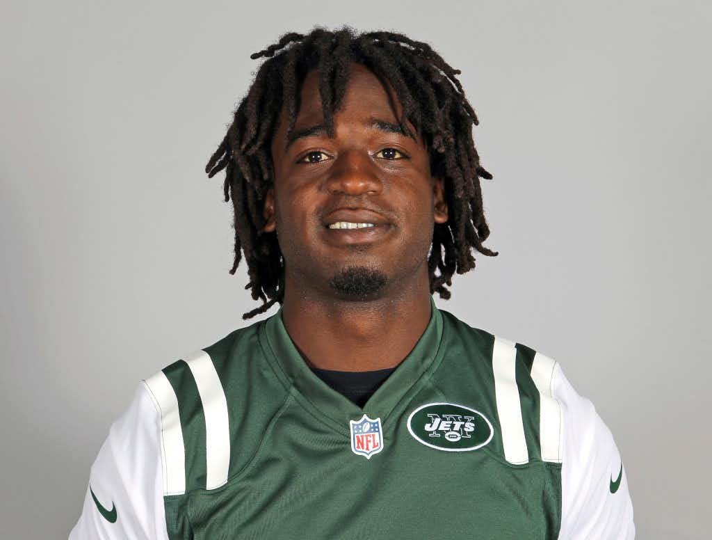 This is a 2013 file photo showing New York Jets running back Joe McKnight. (AP Photo/File)