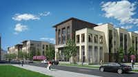 The Station House apartments will have 300 rental units.(Hillwood)
