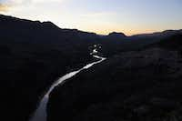 The Rio Grande forms the U.S.-Mexico border on October 15, 2016 in the Big Bend region of West Texas near Lajitas, Texas. Big Bend is a rugged, vast and remote region along the U.S.-Mexico border and includes the Big Bend National Park.  (Photo by John Moore/Getty Images)(Getty Images)