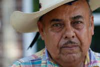 <p>Santos Coria started buying cheap lots from the city of Dallas in the summer of 2012, a few months before he pleaded guilty to theft in Denton County.</p>((Nathan Hunsinger/Staff Photographer))