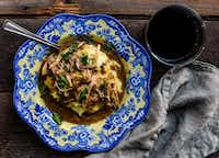 Slow Cooker Mustard Marsala Chicken by Rebecca White
