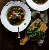 Slow Cooker Ropa Vieja Stew((Rebecca White))