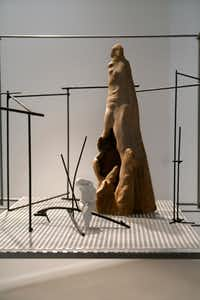 Detail from 'The Lay of the Land' exhibition by Frances Bagley. (Nan Coulter/Special Contributor)