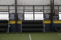 McKinney High School's indoor practice facilities in McKinney, Texas on Aug. 9, 2016.  (Nathan Hunsinger/The Dallas Morning News)(Staff Photographer)