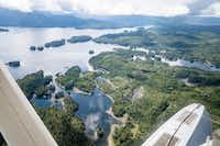 There's only one way to reach Waterfall Resort - by sea plane (Michael Hiller)
