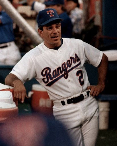 Former Texas Rangers Manager Bobby Valentine, During A 1991 Game Against  The Minnesota Twins.