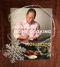 "Chef Masaharu Morimoto writes for regular cooks in ""Mastering the Art of Japanese Home Cooking.""((Leslie Brenner/Staff))"