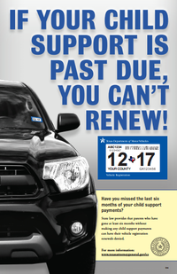 An outreach poster detailing the new enforcement measure.(Texas Attorney General's Office)