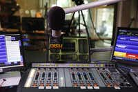 The Kidd Kraddick Morning Show is broadcast from a studio in Irving. (File Photo/David Woo)