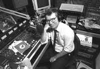 The late Glenn Mitchell, whom Krys Boyd succeeded at KERA-FM (90.1).