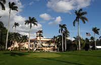 Donald Trump's Mar-A Lago resort in Palm Beach, Florida. (AP Photo/Carolyn Kaster)