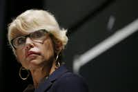 Former Dallas County District Attorney Susan Hawk (Andy Jacobsohn/The Dallas Morning News)