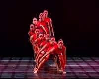 Dallas Black Dance Theatre performs Bruce Wood's <i>Red </i>at a dress rehearsal.(Sharen Bradford/The Dancing Image)