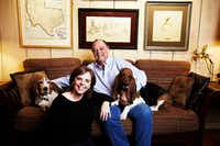 Lisa and Tom Perini are the ultimate hosts, and their pups Gus and Jett are equally hospitable.(<p>(Sebron Snyder)<br></p><p></p>)