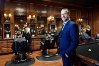 Bruce Schultz, 51, the chief executive officer and owner of the Boardroom salon for men, at the Lovers Lane location in Dallas on Dec. 09, 2016. Ben Torres/Special Contributor(Special Contributor)