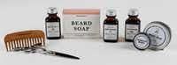 Beard Supply company products designed by co-founders Cody Murphey and Josh Read photo taken at Artifacture in Dallas on Wednesday, December 14, 2016. Artifacture makes their wood combs. (David Woo/The Dallas Morning News)(20031947A)