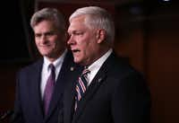 "Rep. Pete Sessions, R-Dallas, and Rep. Bill Cassidy, R-La., have proposed ""The World's Greatest Healthcare Plan"" to fix, not replace, Obamacare, they say. ((File Photo/Getty Images))"
