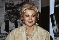 In this 1978 file photo, Hungarian-born American actress Zsa Zsa Gabor is shown. (AP Photo)