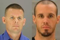 "<p><span style=""font-size: 1em; background-color: transparent;"">Patrick Wayne Tuter (left) was charged with manslaughter in the death of Michael Vincent Allen.</span></p>"