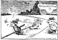 "From  <i>Krazy: George Herriman, a Life in Black and White</i>, by Michael Tisserand.  (<p><span style=""font-size: 1em; background-color: transparent;"">Courtesy of Heritage Auctions</span><br></p><p></p>)"