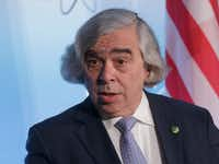 Ernest Moniz, secretary of energy during the second Obama term, has a PhD in theoretical physics from Stanford University.  (AP/J. Scott Applewhite)