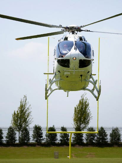 On the rise: D-FW's Airbus Helicopters follows Jerry Jones